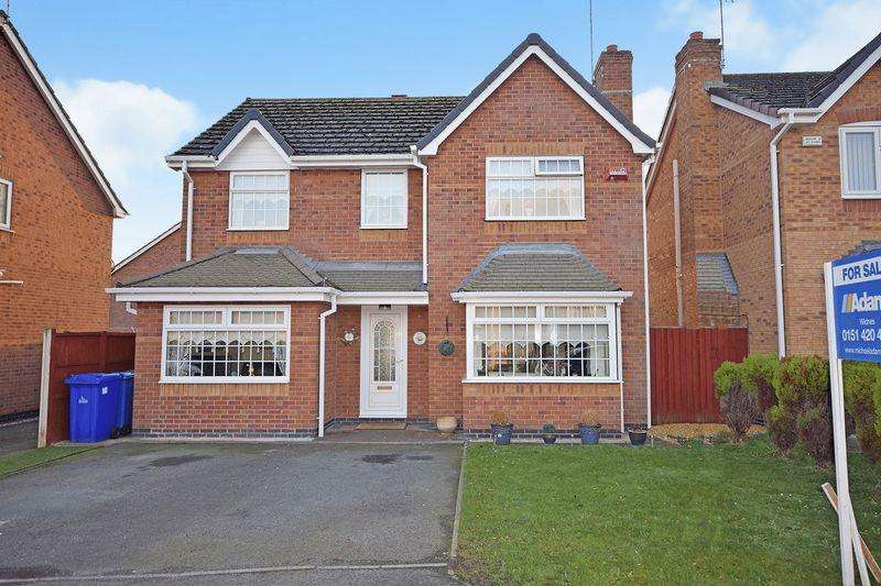 4 Bedrooms Detached House for sale in Holkham Close, Widnes