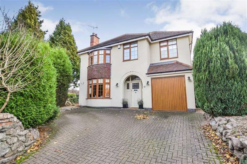 4 Bedrooms Detached House for sale in Newbold Verdon