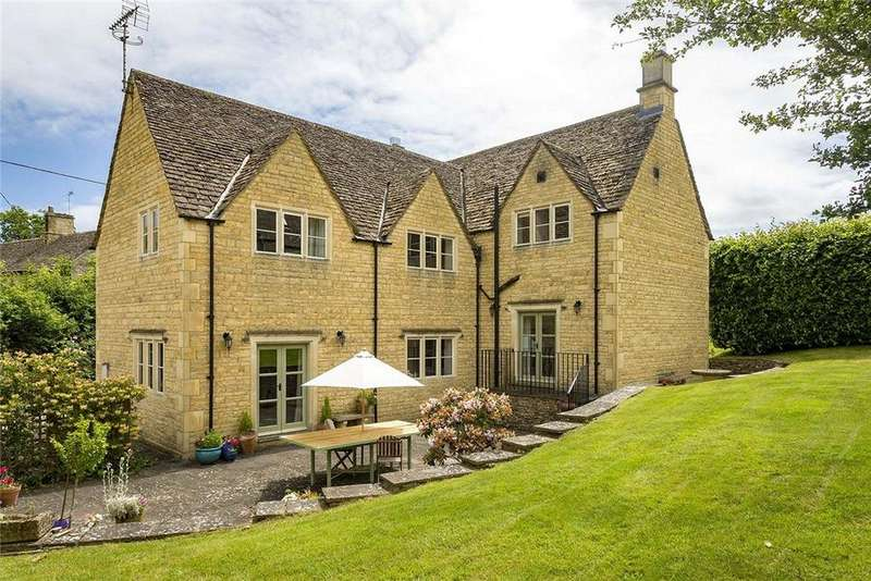 4 Bedrooms Detached House for sale in Windrush, Burford, Gloucestershire, OX18
