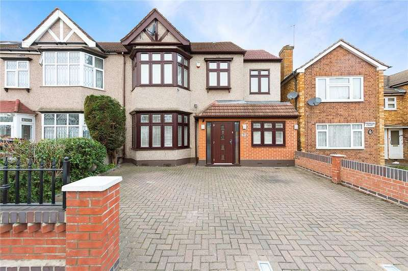 4 Bedrooms End Of Terrace House for sale in Barley Lane, Ilford, IG3