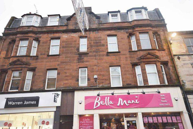 1 Bedroom Flat for sale in Flat 4, 252 High Street, Ayr