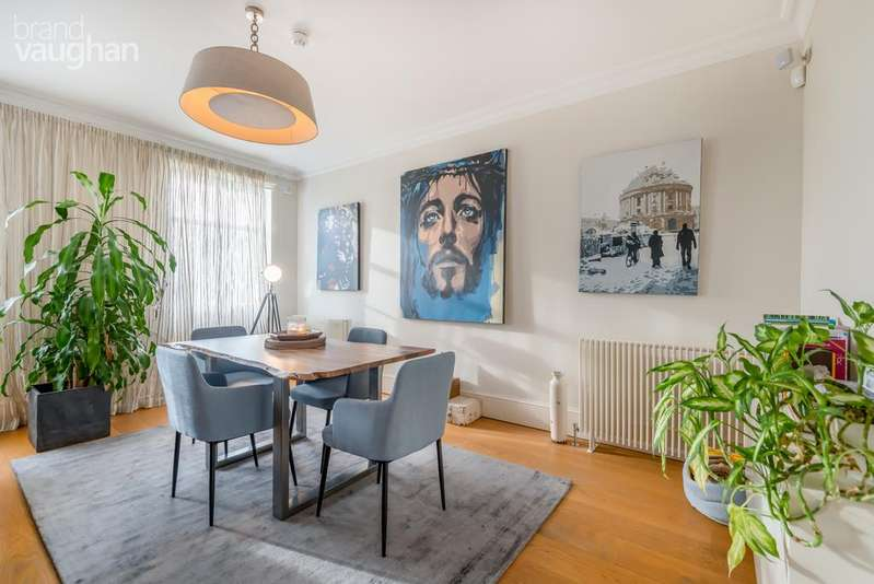 3 Bedrooms Apartment Flat for sale in The Duplex, Sussex Sqaure, Brighton, BN2
