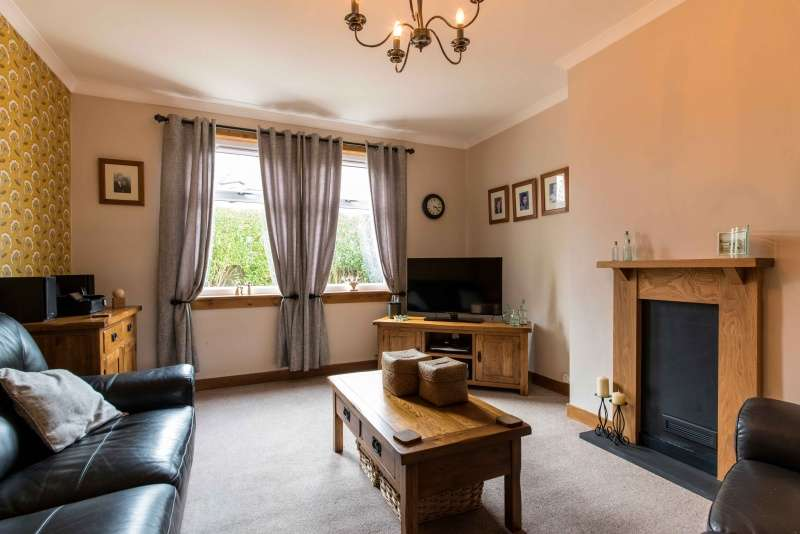 3 Bedrooms End Of Terrace House for sale in Hay Crescent, Keith, Moray, AB55 5AR