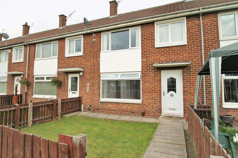 3 Bedrooms Terraced House for sale in Malling Walk, Pallister Park, Middlesbrough, TS3 8QH