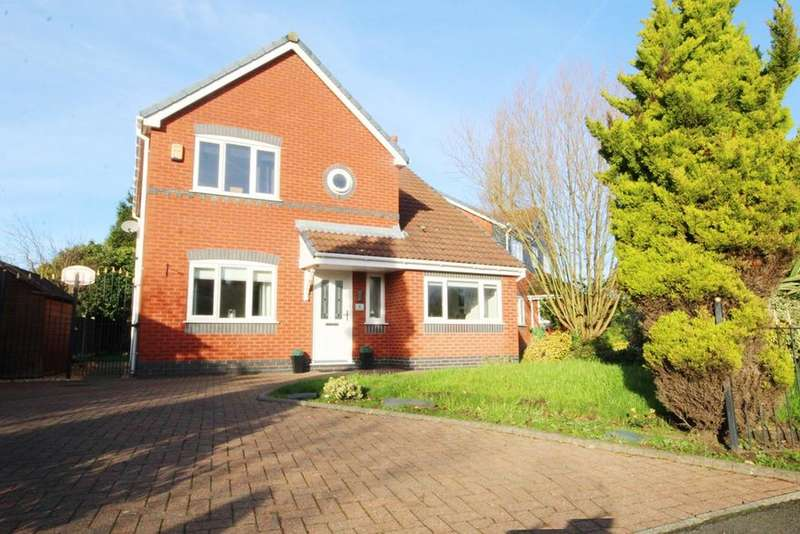 4 Bedrooms Detached House for sale in Wotton Drive, Ashton-in-Makerfield, Wigan, WN4