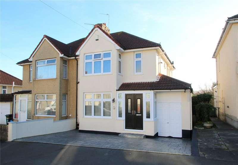 3 Bedrooms Semi Detached House for sale in Manor Road, Bishopsworth, BRISTOL, BS13