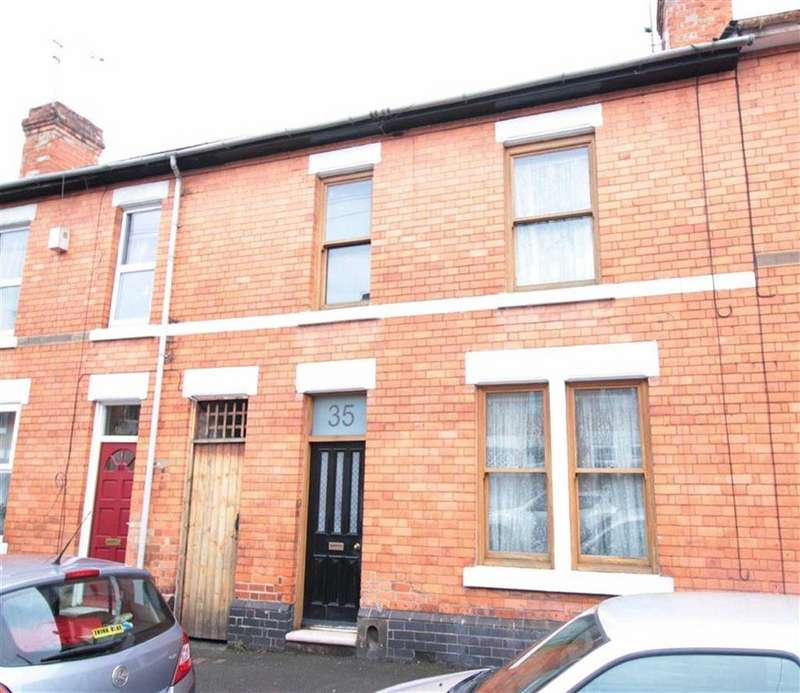 2 Bedrooms Terraced House for sale in Redshaw Street, Derby