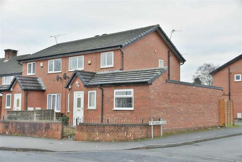 3 Bedrooms Semi Detached House for sale in Flapper Fold Lane, Atherton