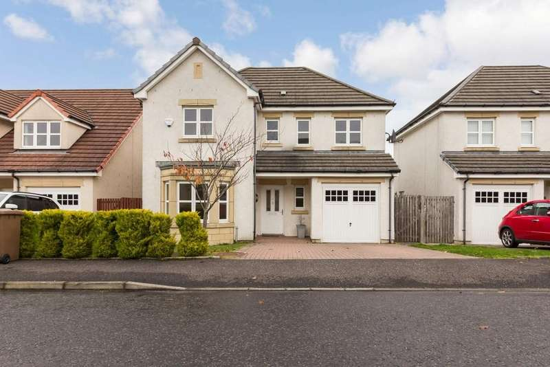 4 Bedrooms Detached House for sale in 5 Stewart Road, Kelty, KY4 0GY