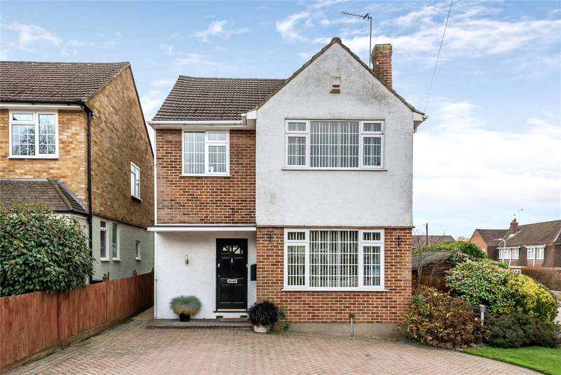 3 Bedrooms Detached House for sale in Cornwall Road, Uxbridge, Middlesex, UB8