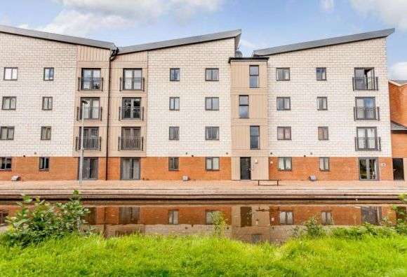 2 Bedrooms Flat for sale in Quay Side, Stoke-On-Trent