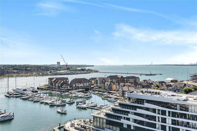 2 Bedrooms Flat for sale in Alexandra Wharf, 1 Maritime Walk, Ocean Village, Southampton, SO14