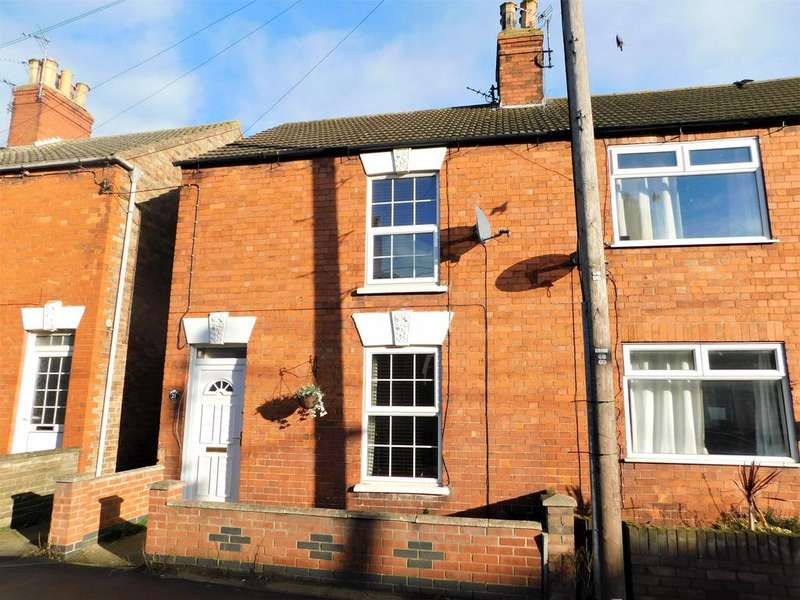 2 Bedrooms Semi Detached House for sale in Hamilton Road, Alford, LN13 9HF