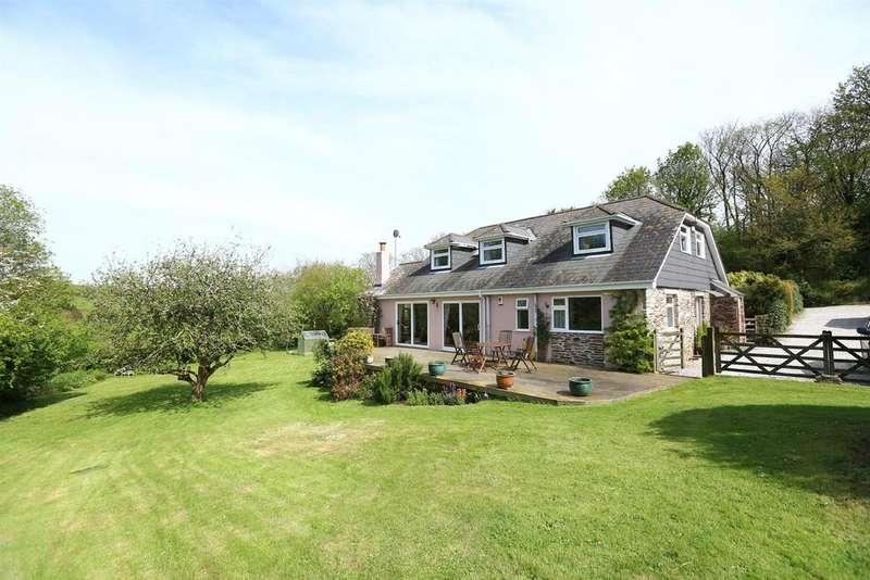 5 Bedrooms Detached House for sale in Down Thomas, Plymouth