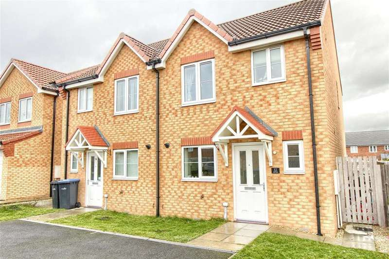3 Bedrooms Semi Detached House for sale in Transporter Way, Longlands