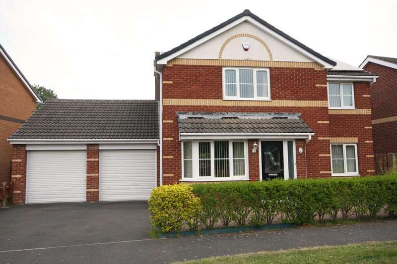 4 Bedrooms Detached House for sale in Stainmore Drive, Great Lumley, Chester-le-Street DH3 4SH