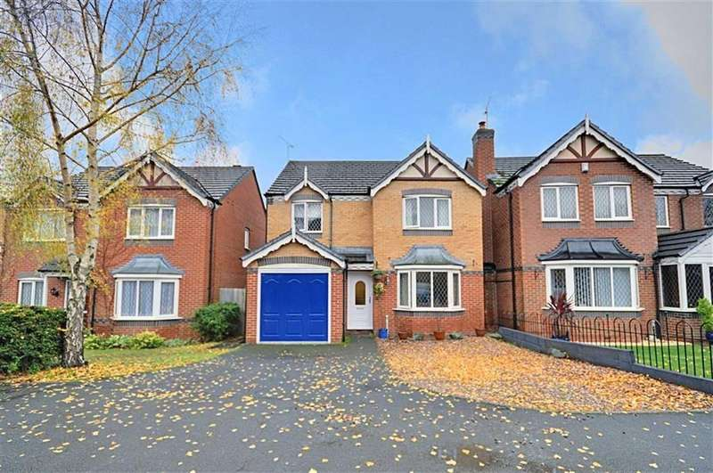 4 Bedrooms Detached House for sale in Farundles Avenue, Worcester