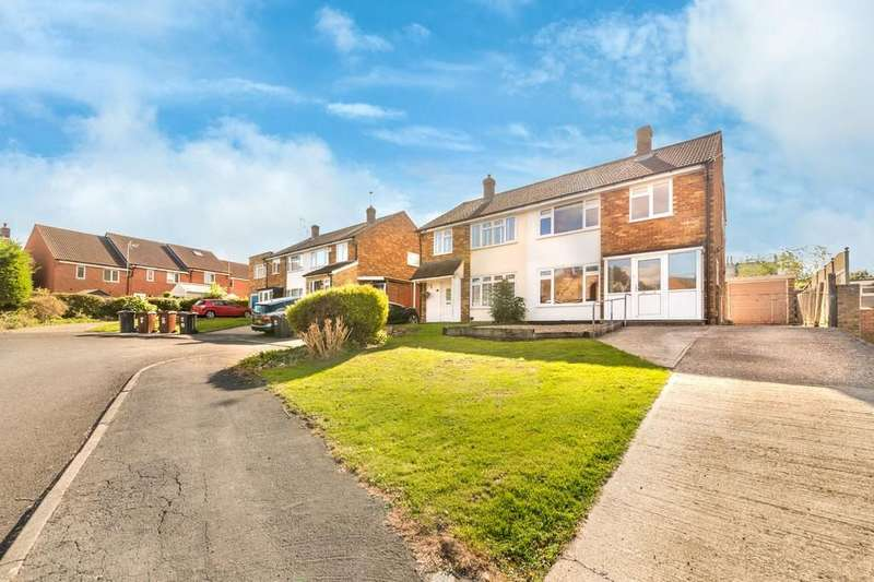 3 Bedrooms Semi Detached House for sale in Coltsfoot Road, Ware