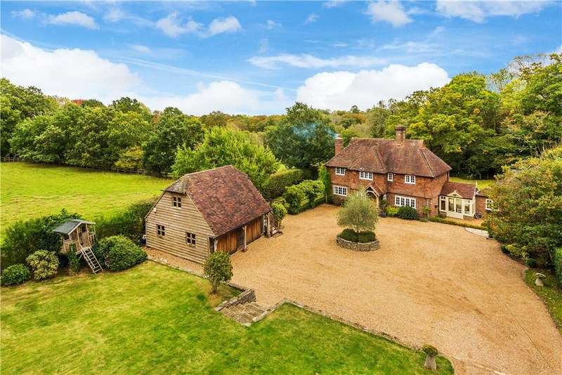 4 Bedrooms Detached House for sale in Mill Lane, Chiddingfold, Godalming, Surrey, GU8