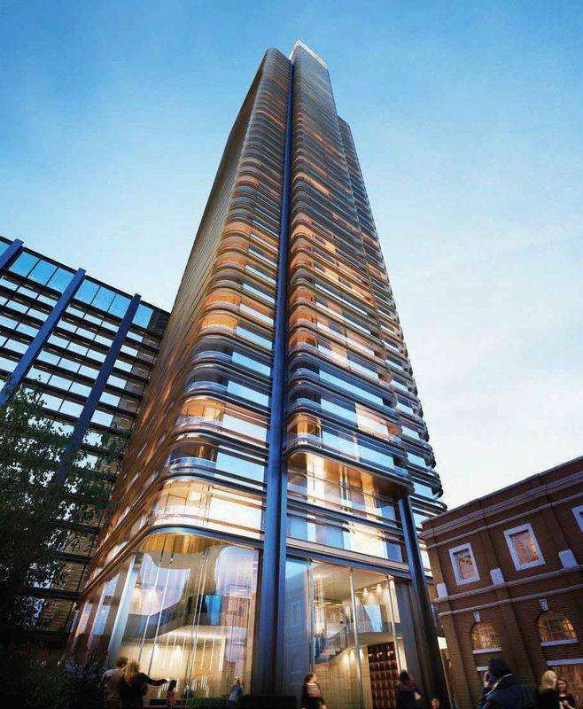 2 Bedrooms Apartment Flat for sale in Stunning Penthouse on the 38th floor