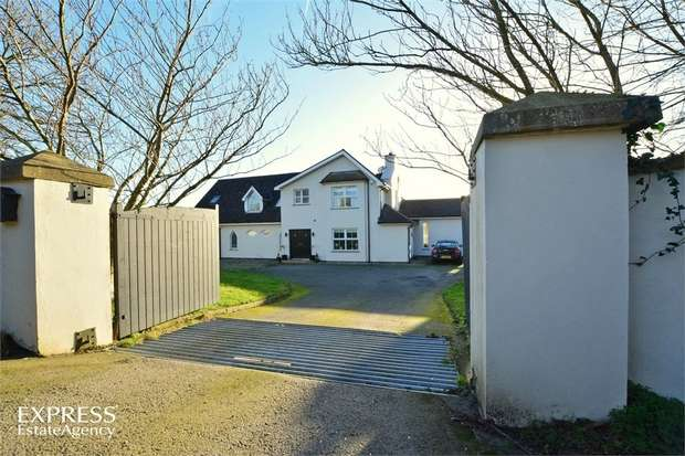 4 Bedrooms Detached House for sale in Lisboy Road, Downpatrick, County Down