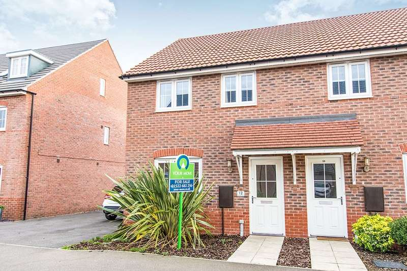 3 Bedrooms Semi Detached House for sale in Vespasian Way, North Hykeham, Lincoln, LN6
