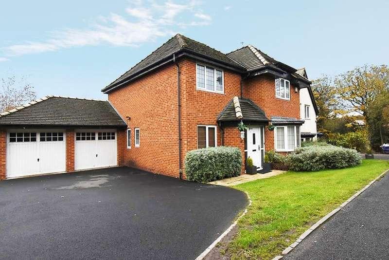 4 Bedrooms Detached House for sale in Eden Park, Blackburn