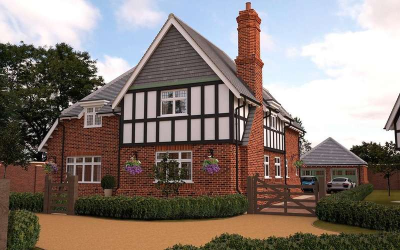 4 Bedrooms Detached House for sale in Stoneham, 8 Petwood Oaks, Woodhall Spa, LN10