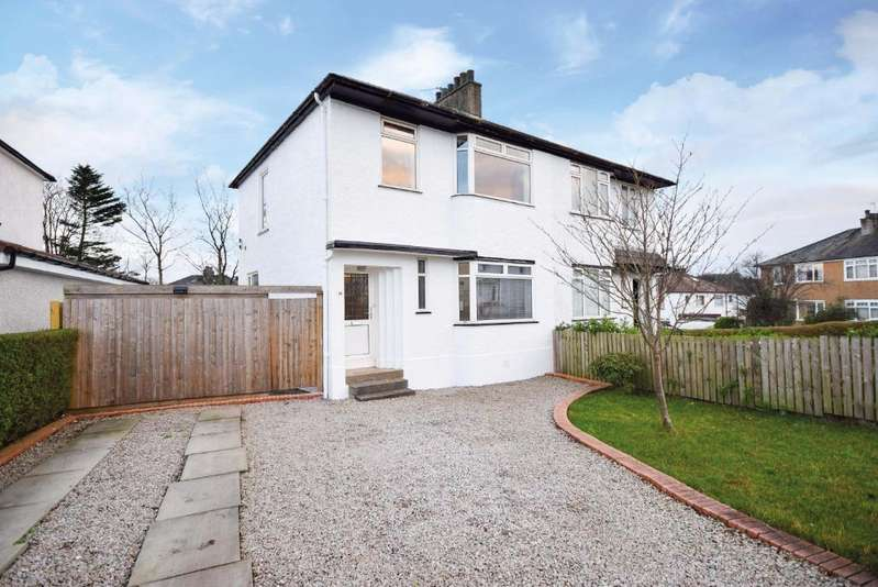 3 Bedrooms Semi-detached Villa House for sale in Heathwood Drive, Thornliebank, Glasgow, G46 7BT