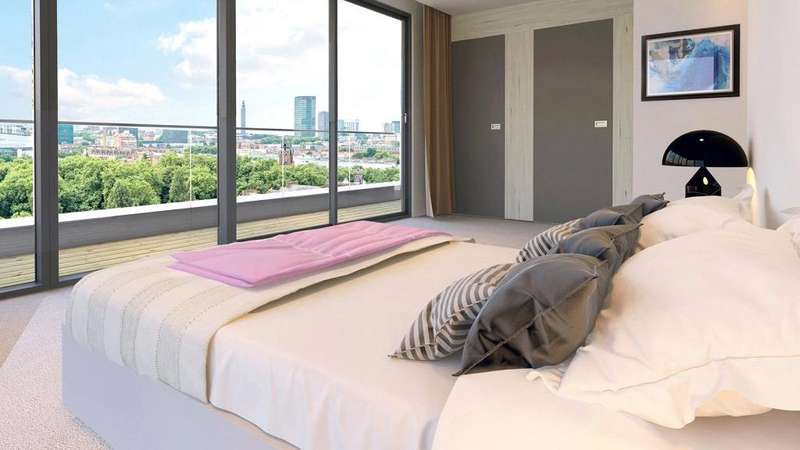 3 Bedrooms Penthouse Flat for sale in Onyx Apartments, 102 Camley Street, London, N1C
