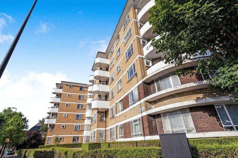 2 Bedrooms Apartment Flat for sale in Christchurch House, Christchurch Road, London, SW2