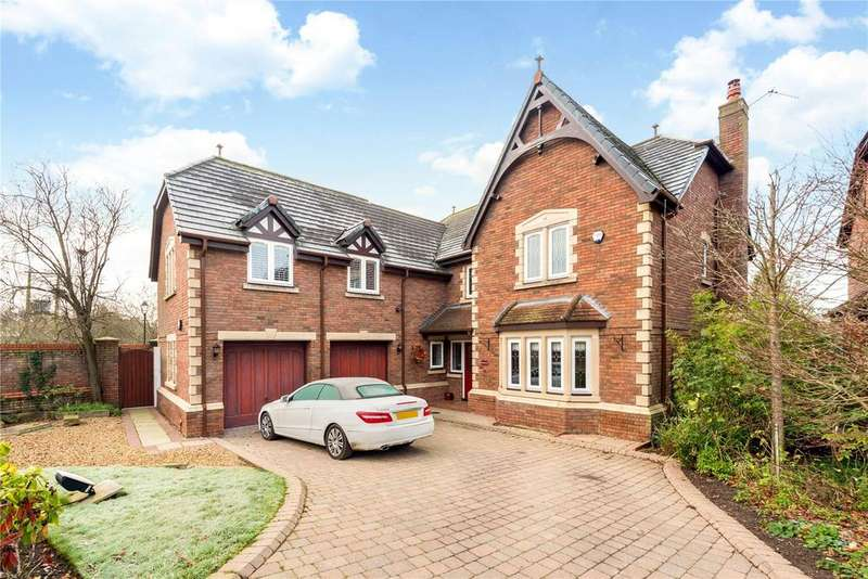 5 Bedrooms Detached House for sale in Jacobs Way, Pickmere, Knutsford, Cheshire, WA16
