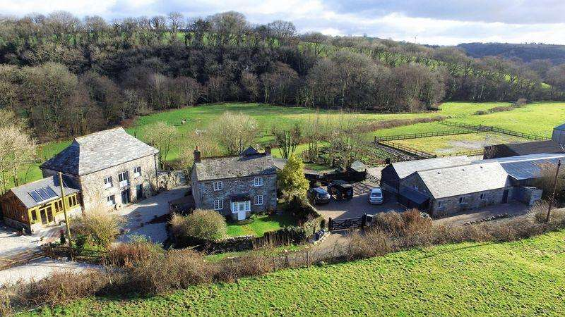 3 Bedrooms House for sale in Trelaske Mill, Lewannick, Launceston
