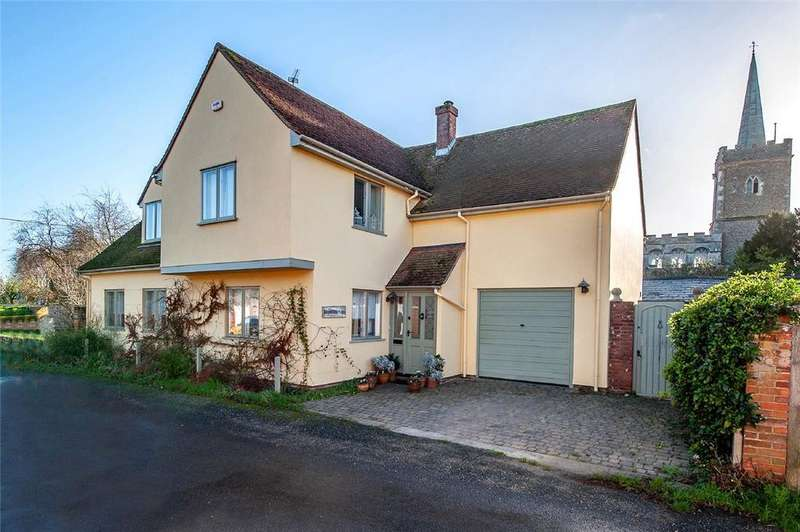 3 Bedrooms Detached House for sale in Church Lane, Nayland, Colchester, Suffolk, CO6