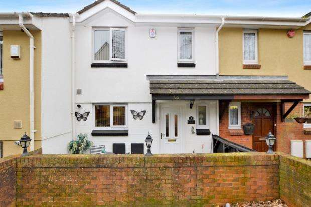 3 Bedrooms Terraced House for sale in Rorkes Close, Plymouth, Devon