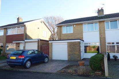 3 Bedrooms Semi Detached House for sale in Tankersley Grove, Great Sankey, Warrington, Cheshire