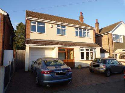 5 Bedrooms Detached House for sale in St Helens Close, Leicester