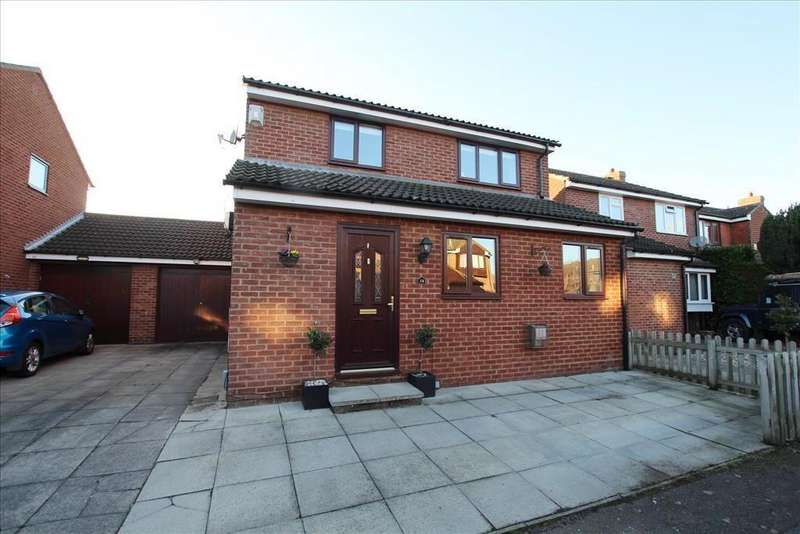 5 Bedrooms Detached House for sale in Mountbatten Drive, Biggleswade, SG18
