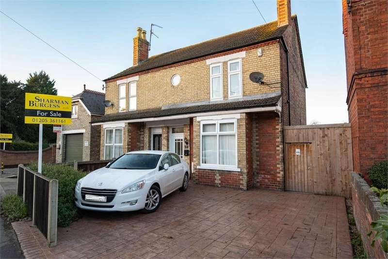 4 Bedrooms Semi Detached House for sale in Sleaford Road, Boston, Lincolnshire