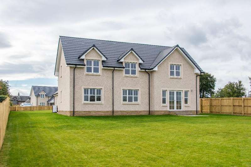5 Bedrooms Detached House for sale in Marlefield Grove, Tibbermore