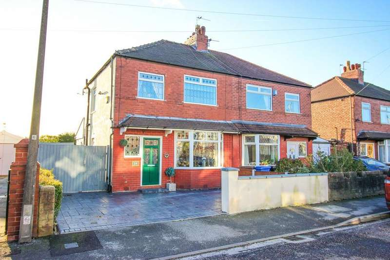 3 Bedrooms Semi Detached House for sale in Neville Street, Hazel Grove, Stockport, SK7