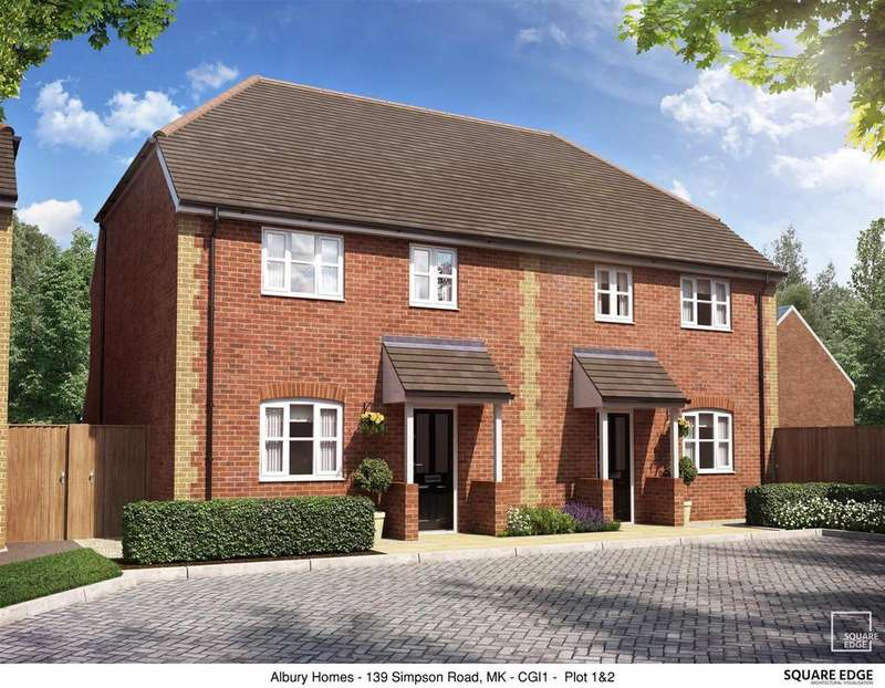 4 Bedrooms Town House for sale in Walden Croft, Simpson, Milton Keynes