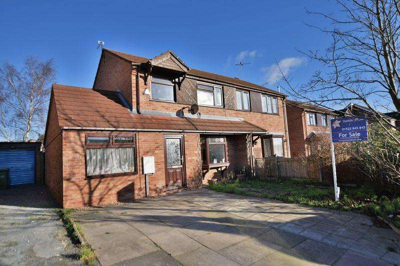 3 Bedrooms Semi Detached House for sale in Fulmar Road, Lincoln