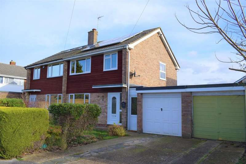 3 Bedrooms Semi Detached House for sale in Bardon Way, Fareham
