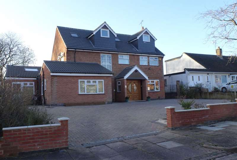 6 Bedrooms Detached House for sale in Sackville Gardens, Stoneygate, Leicester, LE2