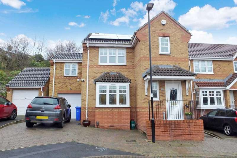 4 Bedrooms Detached House for sale in Stoneley Dell, Charnock, Sheffield, S12 3JR