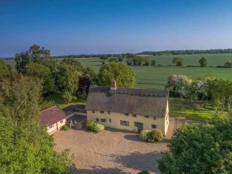 4 Bedrooms Detached House for sale in Wreningham, Norfolk