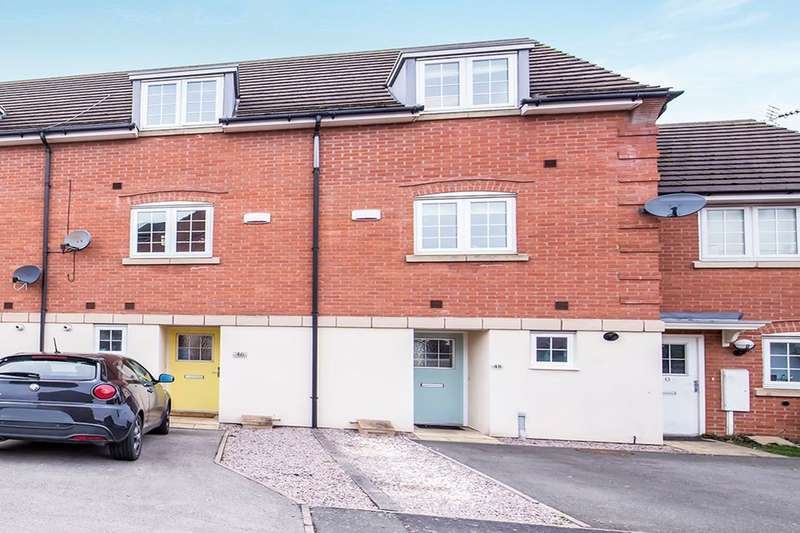 3 Bedrooms Property for sale in Threadcutters Way, Shepshed, Loughborough, LE12