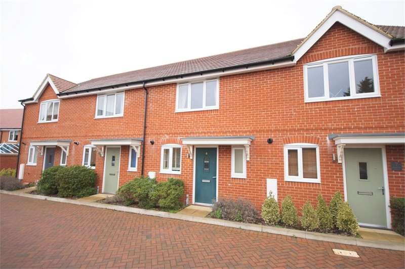 2 Bedrooms Terraced House for sale in Sambar Grove, Three Mile Cross, Reading, Berkshire