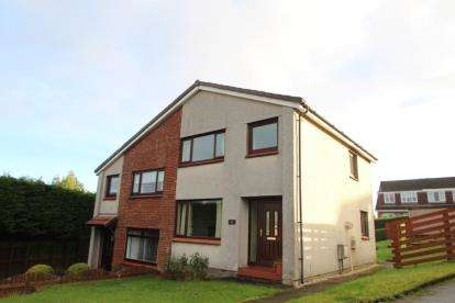 3 Bedrooms Semi Detached House for sale in Yarrow Crescent, Bishopton, Renfrewshire
